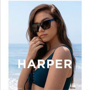 Diff Eyewear Accessories - Diff Harper 57 mm Polarized Gradient Sunglasses